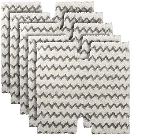 Wigbow Wischmopp-Pads Ersatz Shark Steam S6001UK S6003UK Klik n Flip Pocket Mop S3973 S3973D S3973W, 5-teilig