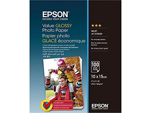 Epson C13S400039 adecuado para Papel fotográfico 10x15cm 100 ÖLados 183gr brillante