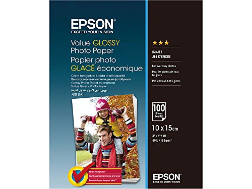 Epson C13S400039 Fotopapier, 100 Blatt, 10 x 15 cm