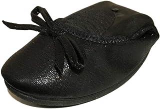 [ブブ オーハナ] 折りたたみ パンプス フラット 上履きとしても 柔らかい 歩きやすい レディース