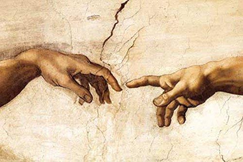 empireposter Michelangelo Creation Hands Poster 91,5x61 cm