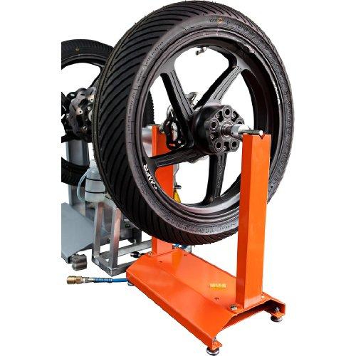 Hi-Q Tools Auswuchtgerät Motorrad Auswuchtgerät passend für Fast alle Motorrad- und Rollerfelgen, integrierte Wasserwaage, höhenverstellbare Füße