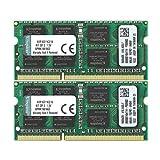 キングストン Kingston ノートPC用メモリ DDR3-1600 (PC3-12800) 8GBx2枚 CL11 1.5V Non-ECC SO-DIMM 204pin KVR16S11K2/16 永久保証