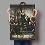 N/L Leinwand Malerei The Big Bang Theory Poster Tv-Film