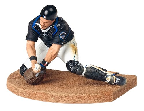 MLB Series 11 Figure: Mike Piazza with Mets Black Jersey