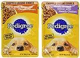 Pedigree Chice Cuts In Gravy 8 Pouch Variety Grilled Chicken Flavor In Sauce, 4-Filet Mignon Flavor...