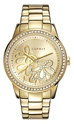 Esprit Damen Armbanduhr klassisch Quarz Edelstahl ES108122005