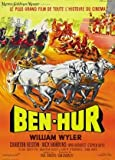 Ben HUR - Charlton Heston - French – Movie Wall Poster
