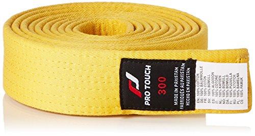 Pro Touch Kinder Budogürtel-75164 Budogürtel, gelb, 220