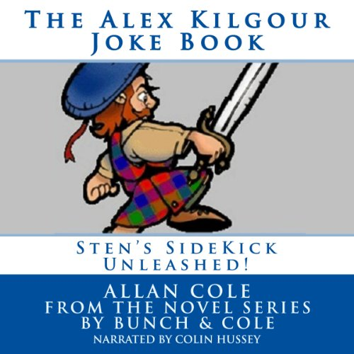 The Alex Kilgour Joke Book audiobook cover art