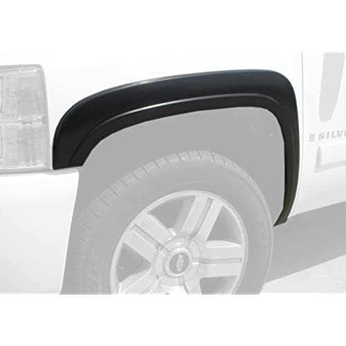 "Monkey Autosports Factory/OE Design Fender Flares for 2007-2013 Chevrolet Silverado. Set of 4 (Standard Bed (6'6"") / Long Bed (8') Models)"