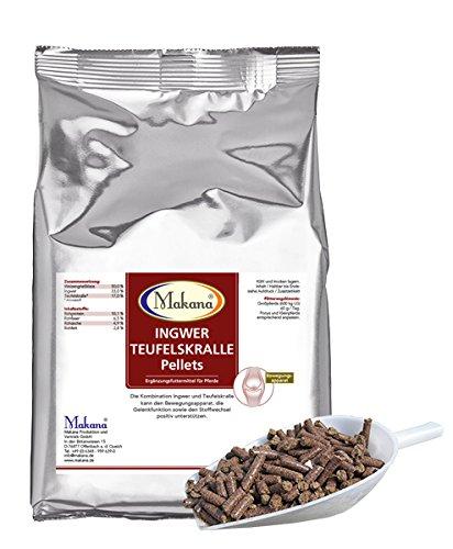 Makana Ingwer/Teufelskralle Pellets, 1,5 kg Beutel (1 x 1,5 kg)
