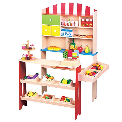 Lelin Toys - 31070 - Jeu D'imitation - Commerçant - Marchande