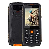 Smartphone Impermeable 3G, Linterna Impermeable SOS/estupenda de la Prenda Impermeable Dual del Smartphone IP68(European regulations)