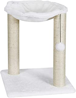 BBBuy 20'' Cat Tree Cat Scratching Posts Natural Sisal Surface, Cat Hammock for Kittens Pet