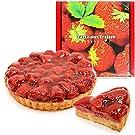 魔法洋菓子店ソルシエ 苺のコンポートタルトケーキ 5号 直径16cm 4~6人分