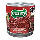 Carey Chiles Chipotles Adobados, 215 gr