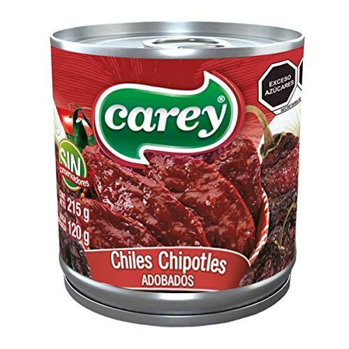 Carey Chiles Chipotles Adobados, 215 gr