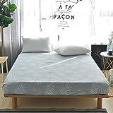 HNLHLY Funda de sábana Estampada Activa de algodón Funda de colchón de algodón Funda Protectora Antideslizante Simmons-Q_150 * 200cm