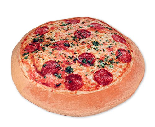 Close Up Cuscino a Forma di Pizza Grande