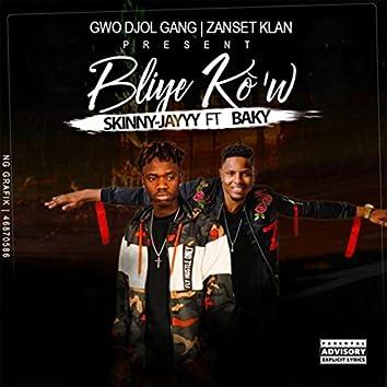 Bliye Kow (feat. Baky)
