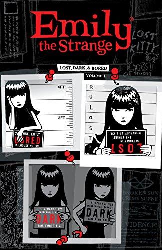 Emily the Strange Volume 1: Lost, Dark, and Bored (English Edition)