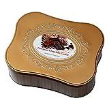 European Chocolate Cookie Tin Assortment of 12 Fine Cookie Varieties with Belgian Chocolate Net Wt 2 Lbs 13.9 OZ OZ (1300 g)