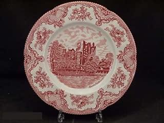 Johnson Bros. Old Britain Castles Pink Dinner Plates