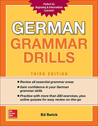 German Grammar Drills, Third Edition