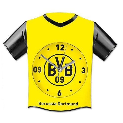 Borussia Dortmund BVB-Wanduhr in Trikotform one Size