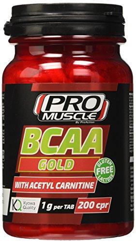 Promuscle Bcaa Gold - Confezione da 200 compresse