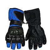 Berrd Guantes de Moto al Aire Libre para Hombre Guantes de Motocross de Carreras con Pantalla táctil de Dedo Completo para Motocicleta - c1, L