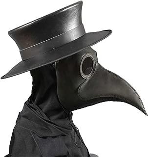 Plague Doctor Bird Mask Long Nose Beak Cosplay Steampunk Halloween Costume Props Festival Parties