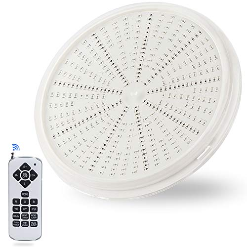 Lampade da piscina a LED, PAR56, luci subacquee, RGB, IP68, impermeabili, 58 W, 12 V AC/DC,...