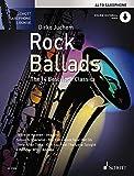 Rock Ballads: The 14 Best Rock Classics. Alt-Saxophon. Ausgabe mit Online-Audiodatei. (Schott Saxophone Lounge)