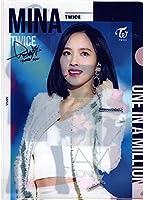 韓国 K-POP ☆TWICE トゥワイス MINA ミナ☆ クリアファイル A4サイズ クリアホルダー ⑥