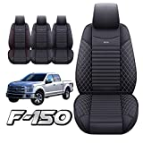2 Front Seat Covers 2009-2022 Ford F150 Truck Pickup Crew Cab Regular Cab...