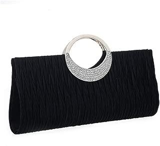 Evening Bag with Chain for Women Glitter Handbag Shoulder Crossbody Bag Clutch Purses for Party Wedding