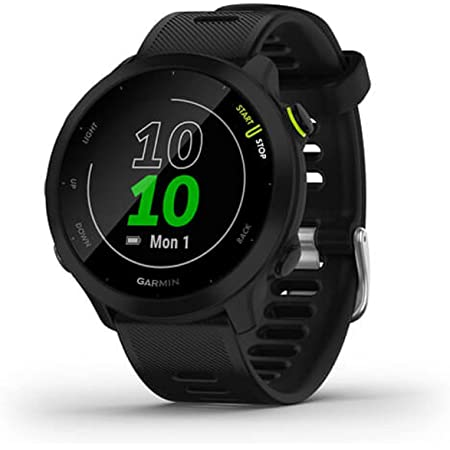 Garmin Forerunner 55, GPS Running Watch with Daily Suggested Workouts, Up to 2 Weeks of Battery Life, Black