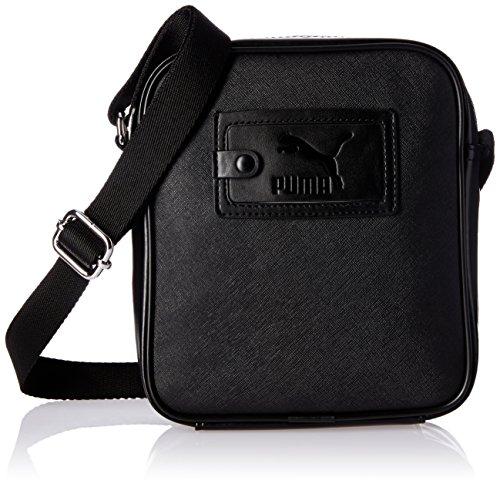 PUMA Umhängetasche Originals Portable, Puma Black, 22.3 x 3.9 x 20 cm, 1.5 Liter, 074174 01