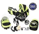 Sportive X2, 3-in-1 Travel System con carrozzina, seggiolino auto, passeggino...