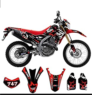 Bike Motorcycle TEAM DECALS Graphics Stickers Background Kit For Honda CRF250L CRF 250L 2010 2011 2012 2013 2014 2015 2016