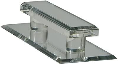Mirart Pull Handle, Self Stick Large Acrylic Mirror Beveled Pull