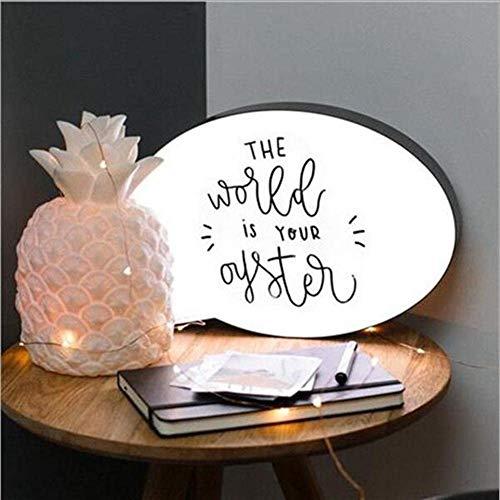 Sprechblase LED-Leuchtbox zum Schreiben Ihrer eigenen Nachricht, Schild für Partys und Hochzeiten
