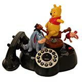 TeleMania KNG America Pooh and Friends Talking Corded Phone (026100)