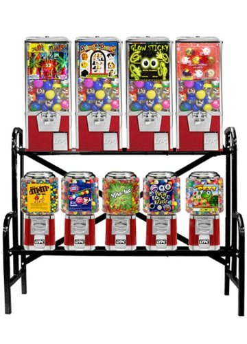 9 Machine Capsual/Candy Combo