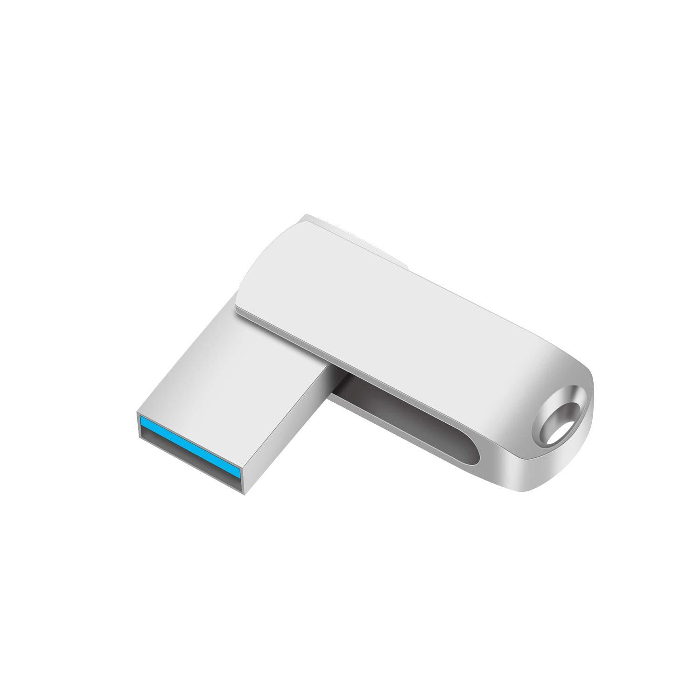 External Storage Portable Keychain %EF%BC%88Silver%EF%BC%89