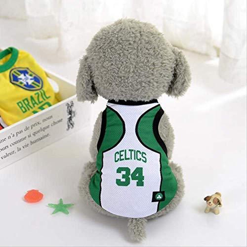 World Cup Dog Jersey, Football T-Shirt Dogs Kostüm, National Soccer Dog Pajamas FIFA Jersey Cats Onesie Für Hunde Und Katzen 2XL pro
