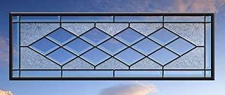 Custom Beveled Diamond Stained Glass window