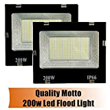 Quality Motto 200w flood light led outdoor - Pack 2